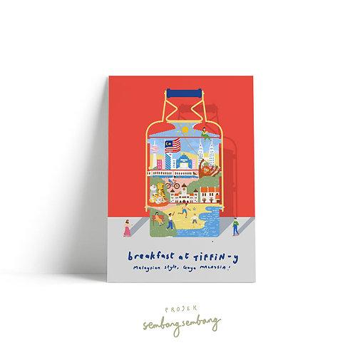 Projek Sembang Sembang | Postcards | Tiffin-y