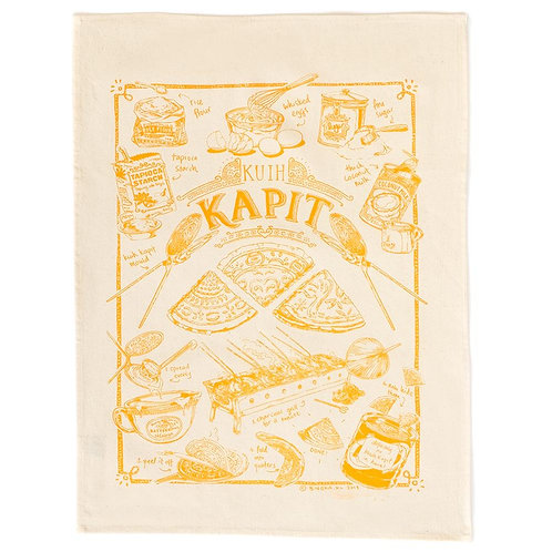 Bingka | Tea Towel | Kuih Kapit