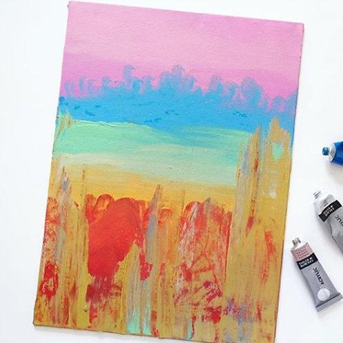 Unixorne | Art Print | Sparkly Rainbow