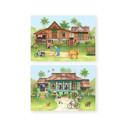 Loka Made | Pop Up Cards | A Tale of Kampung House