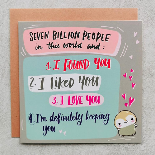Emma5 Artisan | Greeting Cards | Seven Billion People