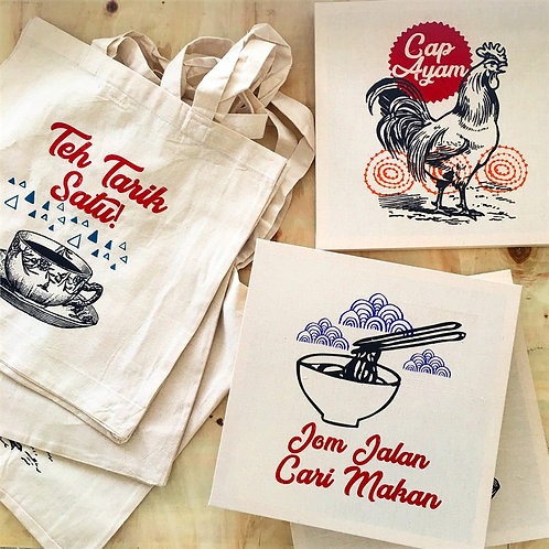 Little Syam | Totebags