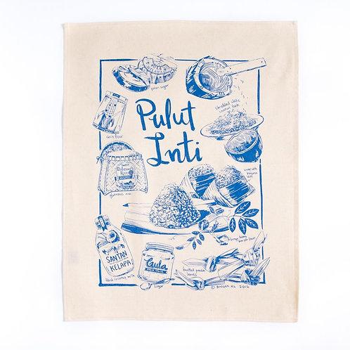 Bingka | Tea Towel | Kuih Pulut Inti