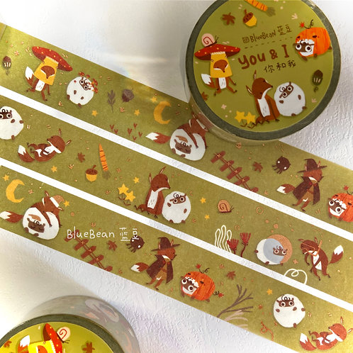 BlueBean | Washi Tape | You & I