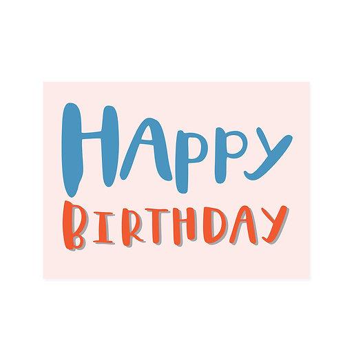 FS | Greeting Card | Happy Birthday