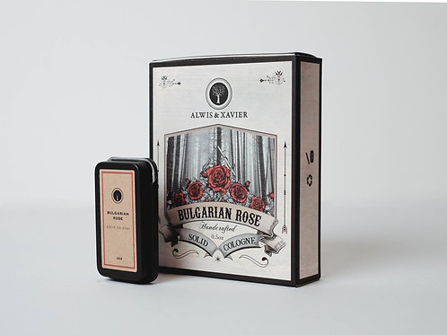 Alwis & Xavier | Solid Colognes | Bulgarian Rose