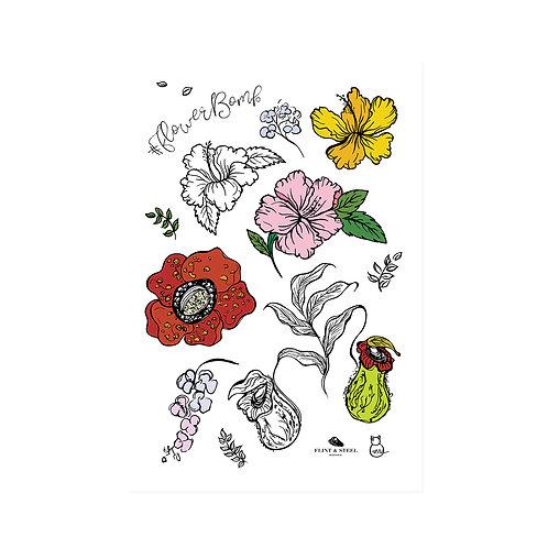 Nia Latif x FS | Interactive Stickers | Flower Bomb