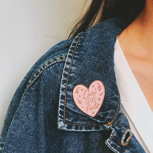 The Brave Assembly | Enamel Pin | Seasons (Love)