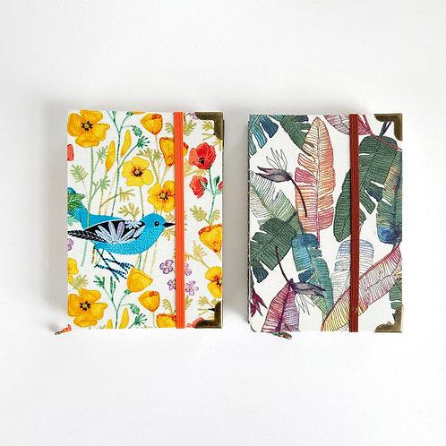 Little Syam | A6 Journal (Fabric)