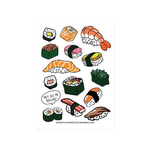 FS Stickers | Sushi