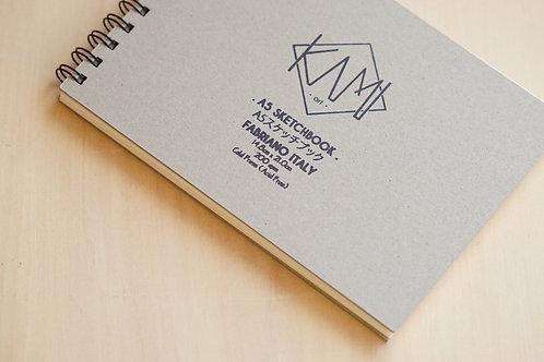 KAMI Art & Design   A5 Size Watercolor Sketchbook