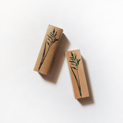 Paper Plans | Stamp | Barnyard Grass