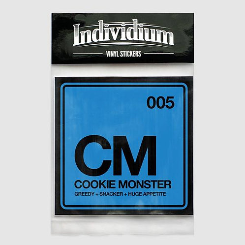 Individium | Vinyl Sticker | CM