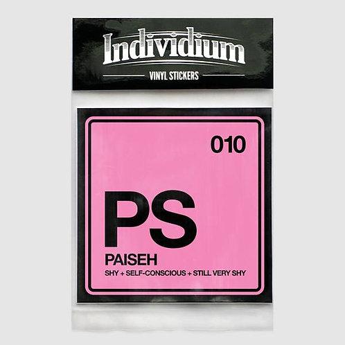 Individium | Vinyl Sticker | PS