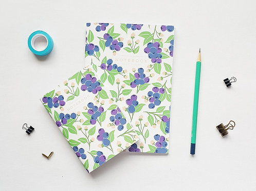 Pebble Paper Design | Notebook | Blueberry