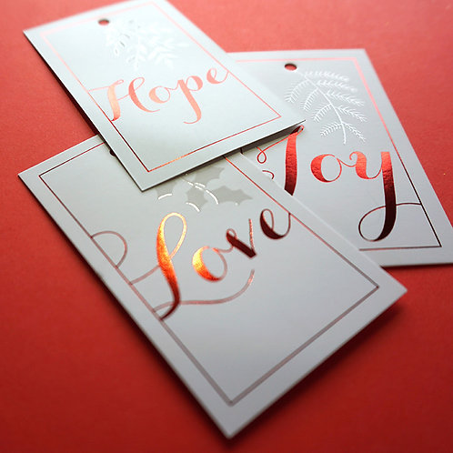 Salt x Paper | Gift Tags | Love