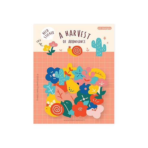 Loka Made | Deco Sticker | DS14 A Harvest of Abundance