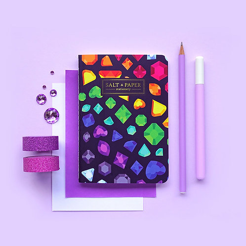 Salt x Paper | Notebook | Gemstones