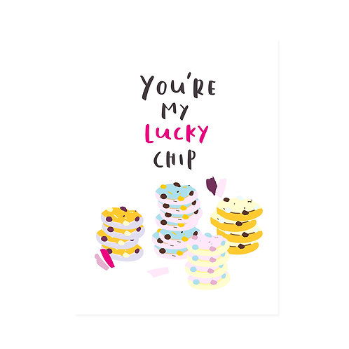 FS | Greeting Card | Lucky Chip