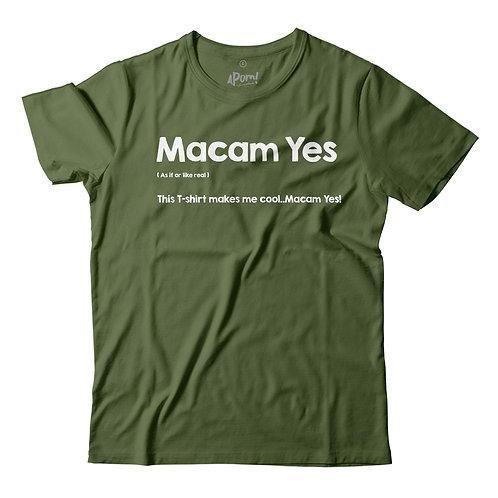APOM | Tee Slang | Macam Yes