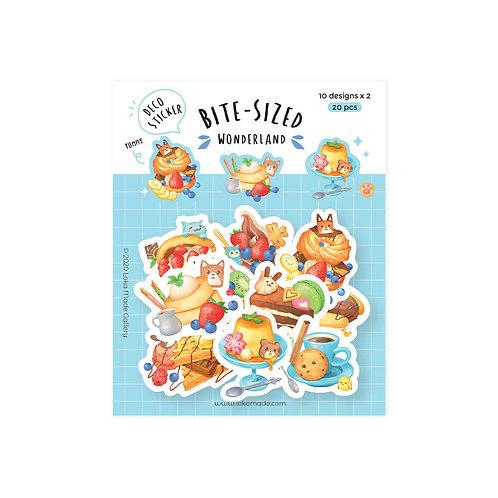 Loka Made | Deco Sticker | DS11 Bite-Sized Wonderland