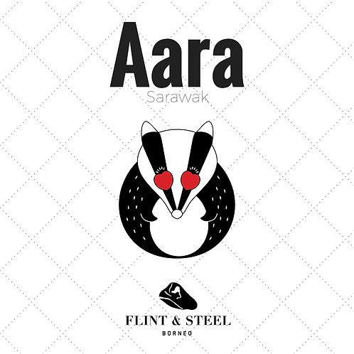 FS x Aara Sarawak | Enamel Pins | Badger in Love