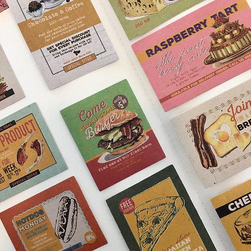 Stickers | Vintage Food Posters