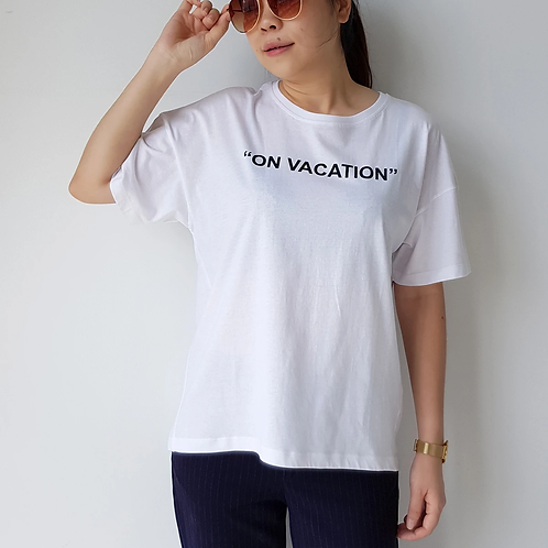 Home Too Much | T-Shirt | On Vacation