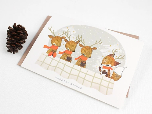 Whimsy Whimsical | Greeting Card | Warmest Wishes