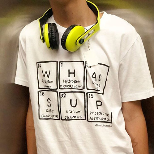 Blank Borneo | Periodic Table Shirt | WHAtSUP