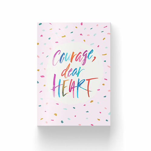 The Brave Assembly | Postcard Collection #2 | Courage, Dear Heart