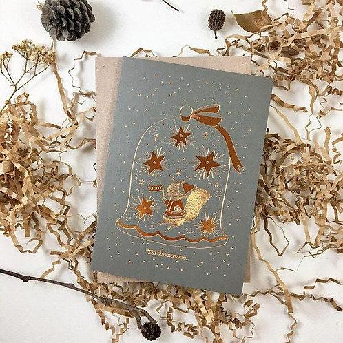 Whimsy Whimsical | Greeting Card | Tis the Season | Jolly |