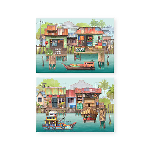 Loka Made | Pop Up Cards | The Rhythm of Fishing Village