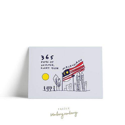 Projek Sembang Sembang | Postcards | 365 Days