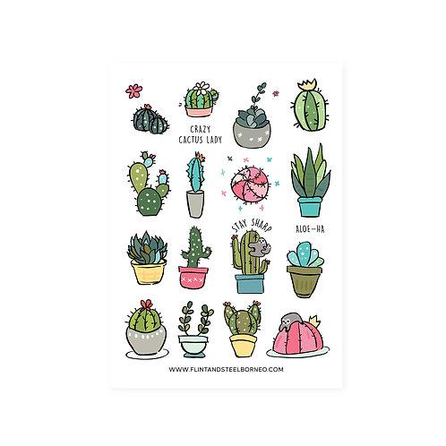 FS Stickers   Cactus