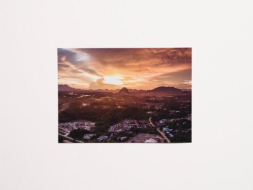 Iain With Eyes | Portrait  | Armageddon Sunset