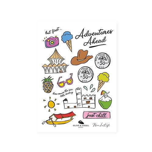 Nia Latif x FS | Interactive Stickers | Adventures Ahead