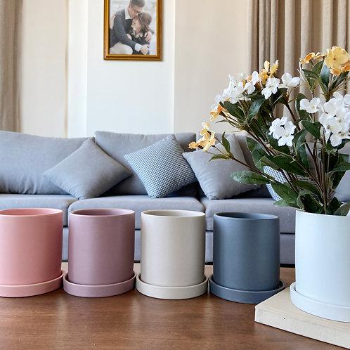 Ceramic Cylindrical Planter