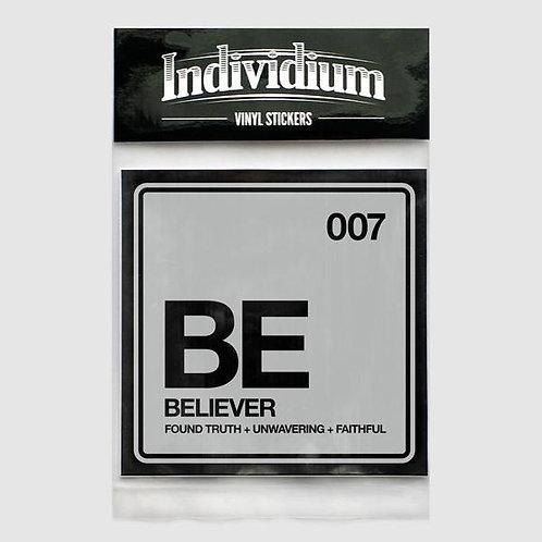 Individium | Vinyl Sticker | BE