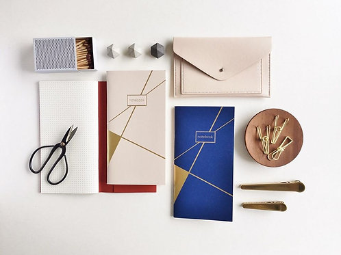 Paper Geek Co. | Notebook | Gold Foiled