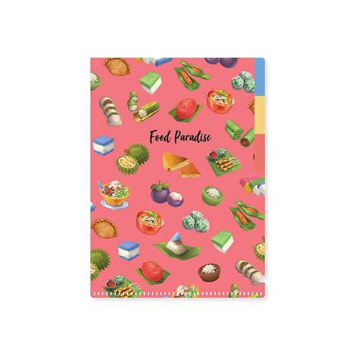 Loka Made | A5 L'Shape Folder | FDS03 Food Paradise Kuih-Muih
