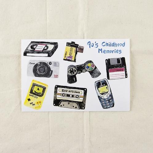 Fish Koou | Postcard | 90's Childhood Memories