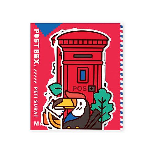 Loka Made | Malaysia Postbox Postcard (Set) MDPS03