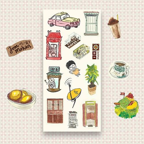 Jacktus | Kopitiam Sticker Set | Elements