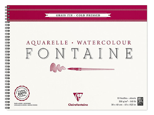 Clairefontaine | Watercolour Pad