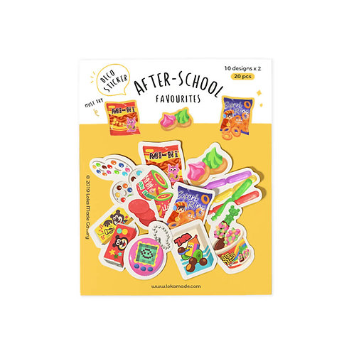 Loka Made | Deco Sticker | DS07 After School Favourites