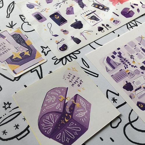 Azreenchan   Postcard Pack   April