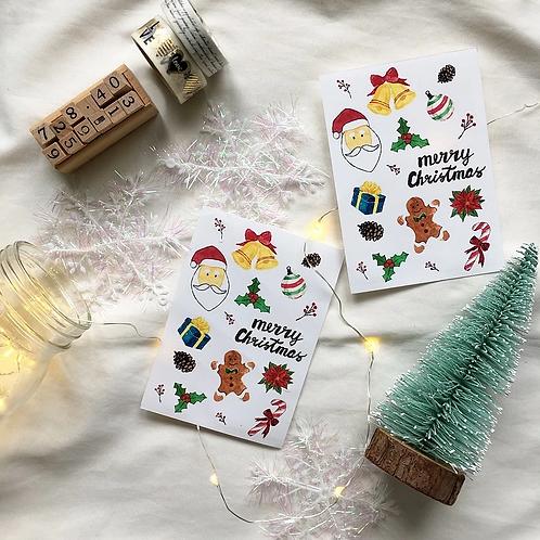 Fish Koou   Stickers   Christmas