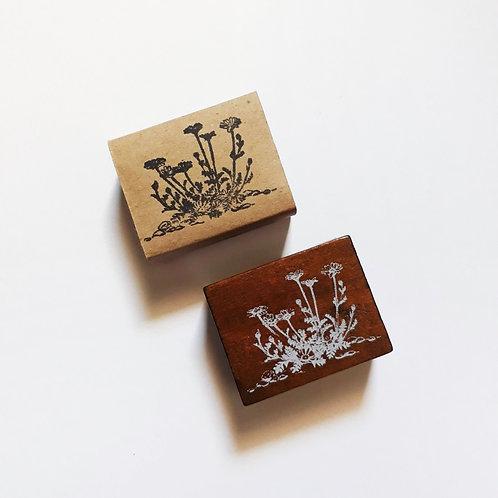 Paper Plans   Stamp   Hedge Flower