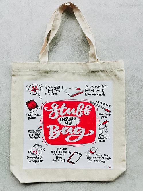 Emma5 Artisan | Totebag | Stuff In My Bag